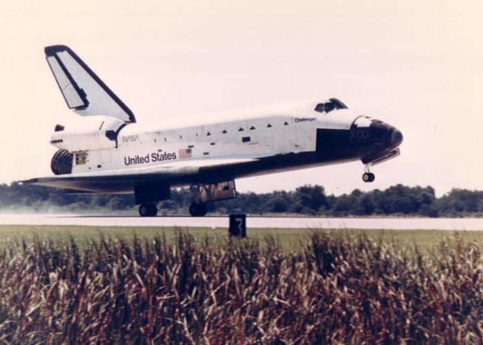 """Cuando el transbordador espacial fue """"atacado"""" por un láser soviético"""