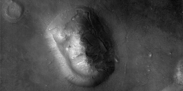 La cara de Marte vista por la MRO