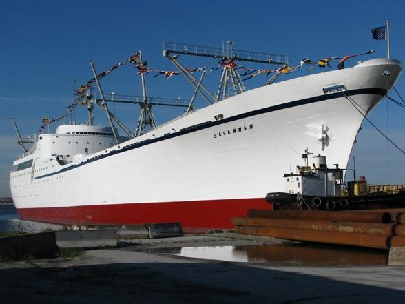 NS Savannah, el primer buque mercante nuclear del mundo