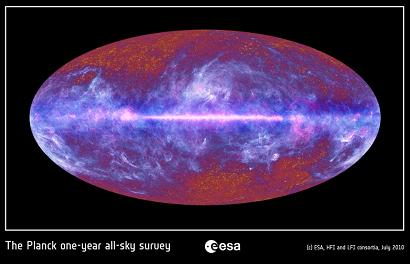 Planck, ya queda menos para acercarnos al principio del Universo