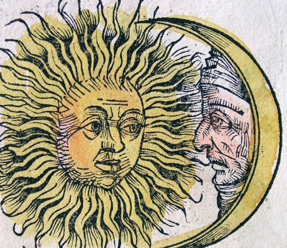 ¿Por qué vemos amarillo el sol y blanca la luna?