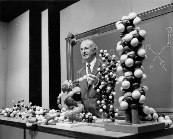 La triple hélice de Linus Pauling
