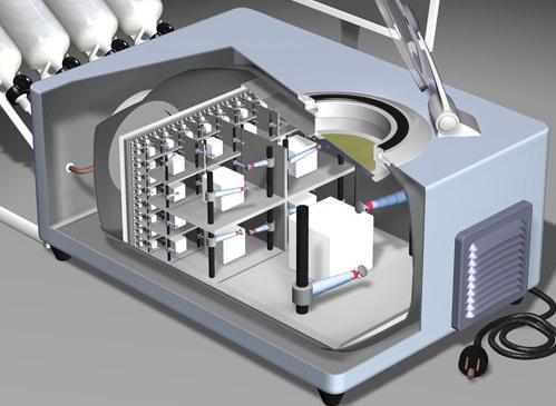 En el interior de una nanofactoría
