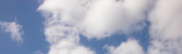 ¿Por qué las nubes son blancas?