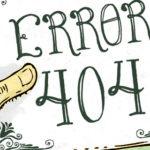Nuestra página de Error 404, por Montt