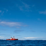 Un vistazo al Hespérides en alta mar
