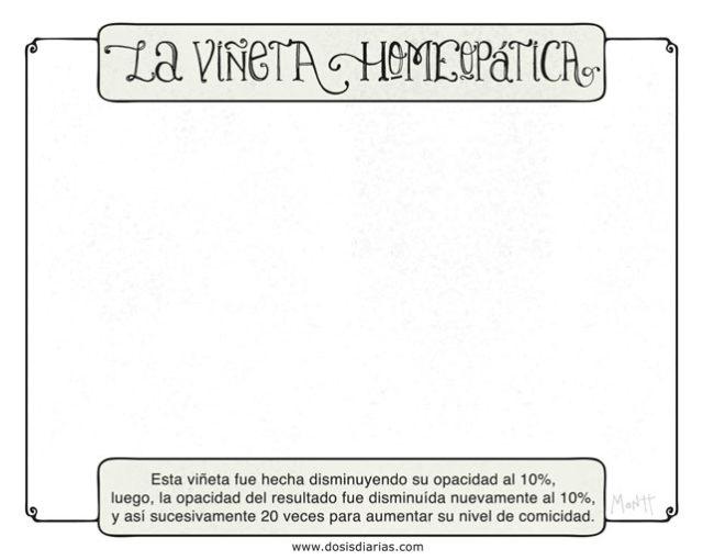 Viñeta homeopática