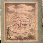 Curioso juego de mesa sobre astronomía de 1804