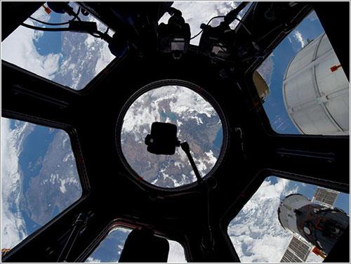 Conexión en directo con la Estación espacial, 17 de mayo 10:51