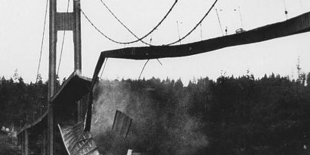 La resonancia bien entendida: El puente de Tacoma Narrows