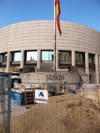 Senado en obras