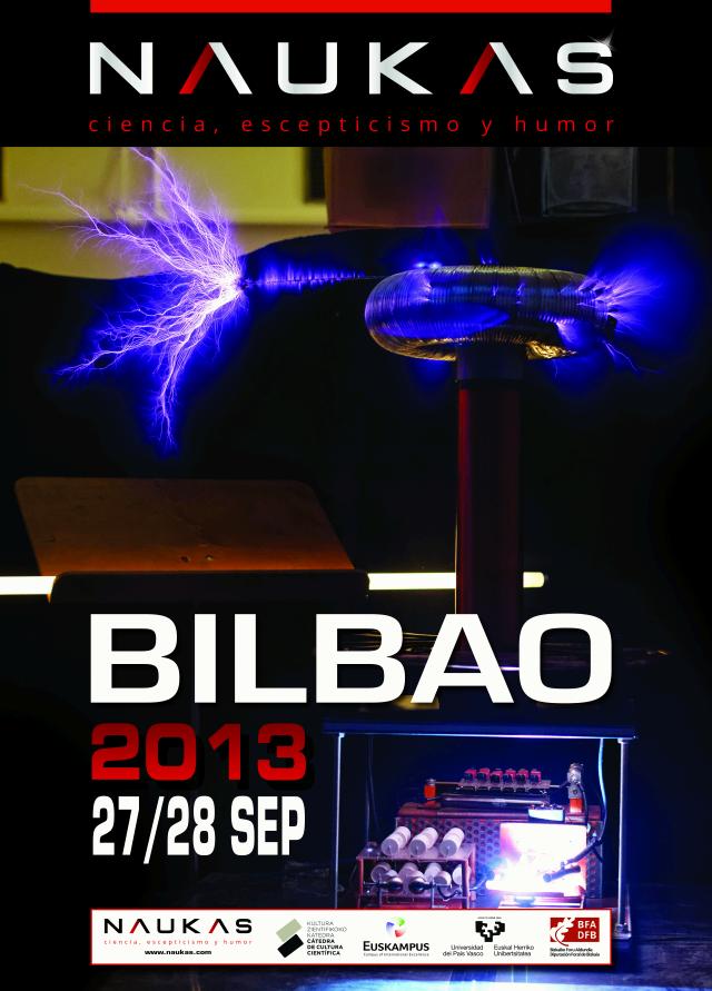 Naukas Bilbao 2013 - 27 y 28 de septiembre