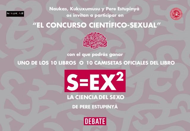 Atentos al Concurso Naukas S=EX2