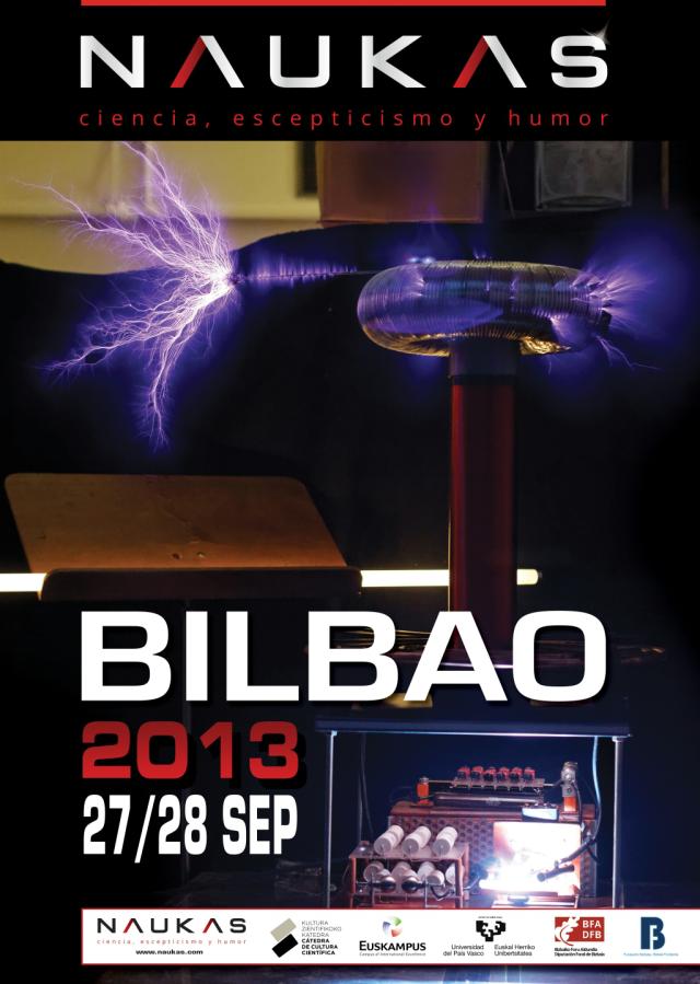 Naukas Bilbao 2013 - viernes 27 y sábado 28 Septiembre 2013