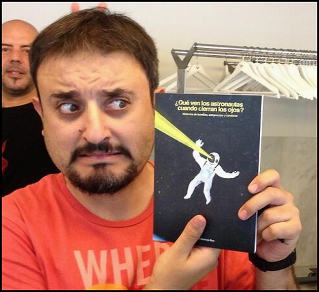 "El autor atacado por su obra"". Foto de Javier Peláez"