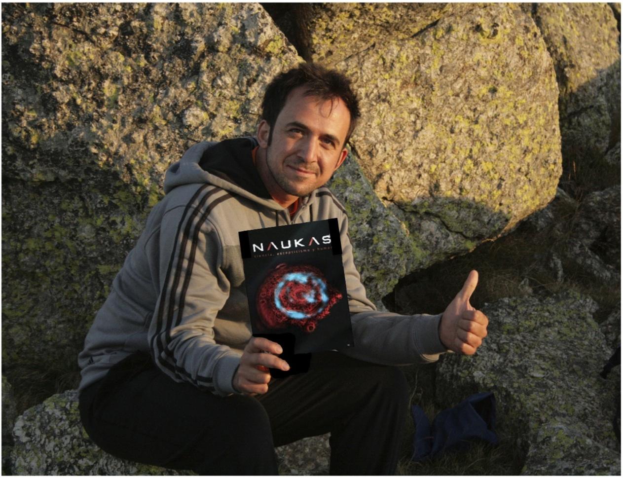 Daniel Muñoz-Espín, primer autor del artículo en Cell, recomienda Naukas#3
