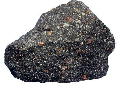 Fragmento del meteorito Murchison, una condrita carbonácea caída en Australia en 1969