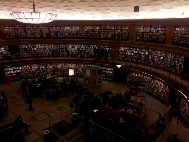 Biblioteca Pública Estocolmo (Campus Solna)