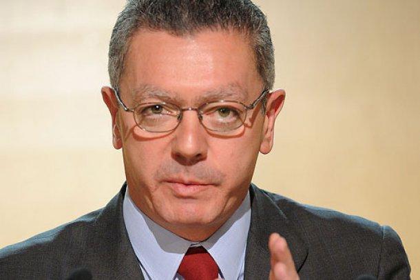 Alberto Ruiz-Gallardon, ministro de Justicia (Crédito: