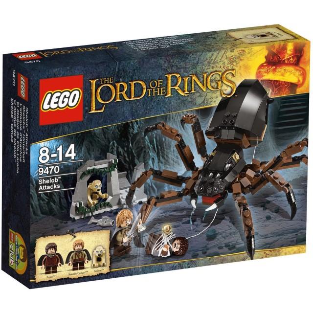 El ataque de Ella-Laraña de LEGO