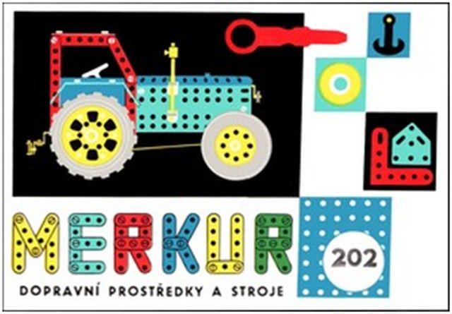 Juego infantil checo de construcciones Merkur
