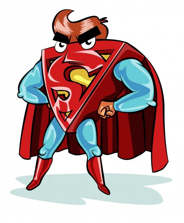 Supertriángulo, mi héroe favotito, es un diseño de mi amigo @SDibujando