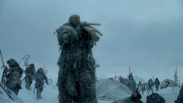 El gigante que vio Jon Nieve. Fuente