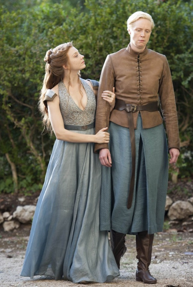 Brienne de Tarth, junto a Lady Margaery. Fuente