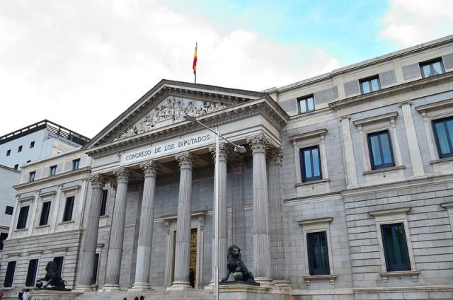 Congreso de los Diputados, Madrid (foto de Alessio Cosentino, Flickr)