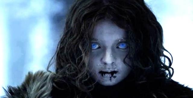 Una niña zombi, creada por los Caminantes blancos. Fuente