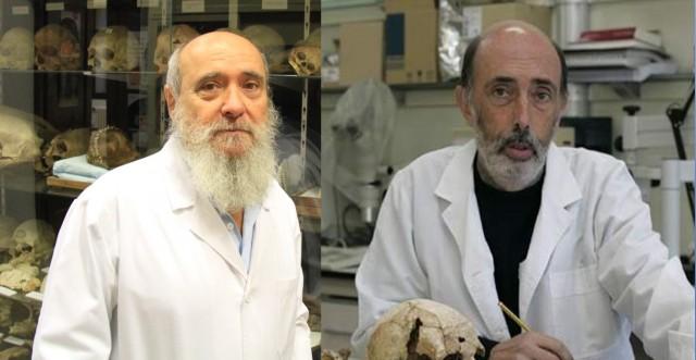 Miguel Botella y Francisco Etxeberría, dos de los mejores antropólogos forenses del mundo