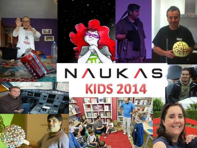Este año en Bilbao tendremos 9 charlas de Naukas Kids!