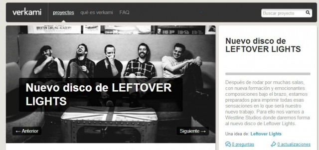 El segundo disco de Leftover Lights