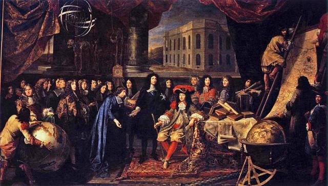 Fundación de la Real Academia de Ciencias de París -  1666
