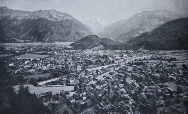 En 1911 el turismo ya había convertido a Interlaken en una gran ciudad.