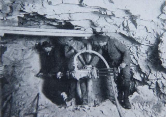Trabajos de excavación del túnel