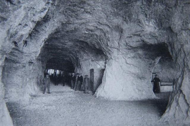 La estación de Eigerwand poco después de su apertura al público.