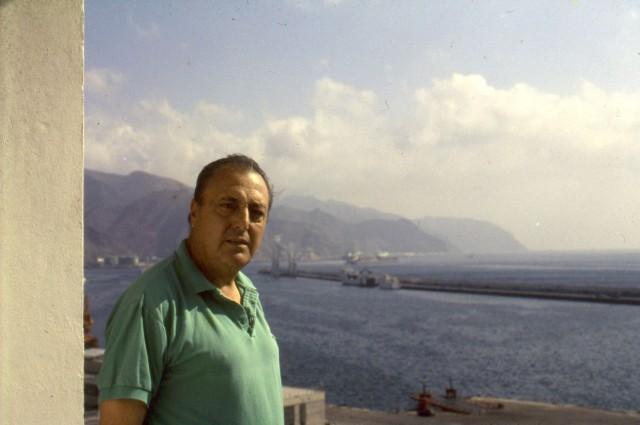 Antonio Tavío, en abril de 1994 (Foto R. Campo)