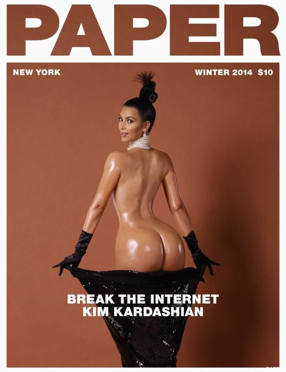 "La foto que ""rompió"" internet - Kim Kardashian"