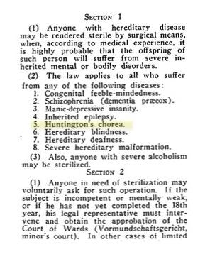 Sterilization act