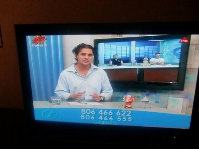 """""""El espacio televisivo de videncia Yara Magia Azul"""" - imagen Manuel Carballal"""