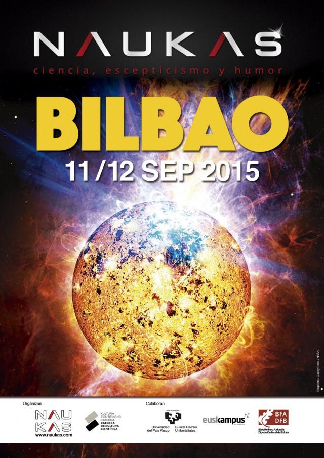 Naukas Bilbao 2015 - Cartel realizado por @Alpoma