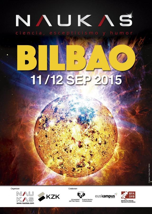 Naukas Bilbao 2015 – Cartel realizado por @Alpoma