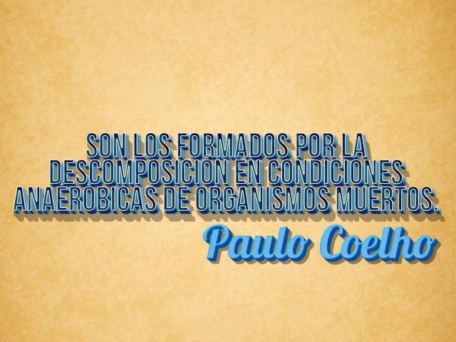 ¿Sabías que Paulo Coelho dijo esta frase?