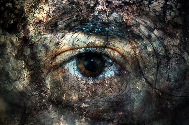 Foto por Christina Michaud. Fractal Eye. https://www.flickr.com/photos/urbantales/3291832840/