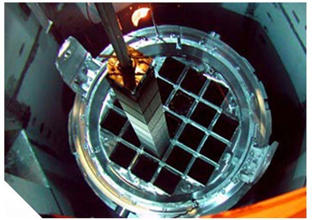 Tubos dentro de los cuales se insertan los elementos combustibles gastados. Fuente: ENRESA