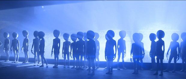 Esos pequeños hombrecitos verdes grises de Encuentros en la tercera fase (1977)