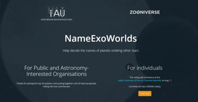 NameExoWorlds. http://nameexoworlds.iau.org