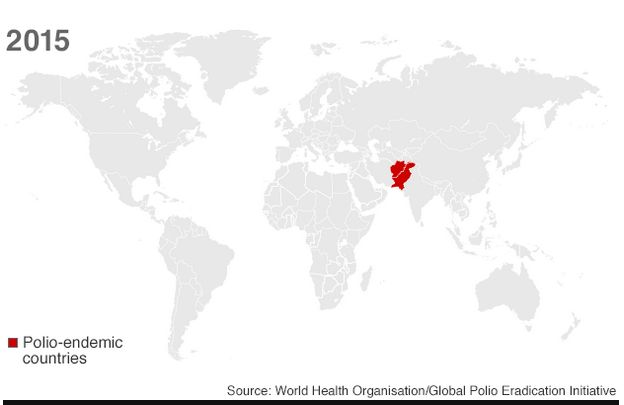 2015 datos de la Organización Mundial de la Salud via BBC