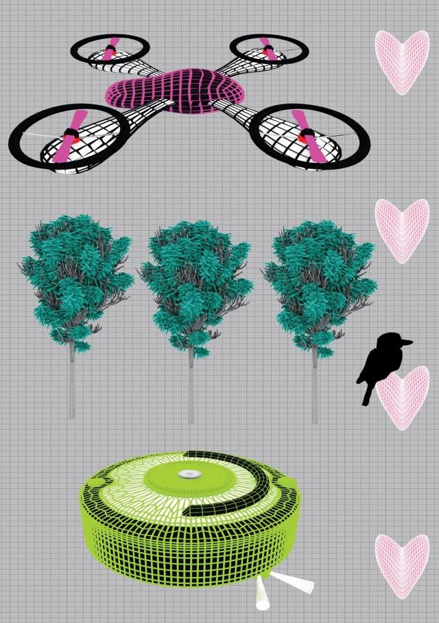 La clásica historia de amor entre drones, por Marina Trigueros